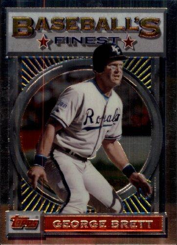 (1993 Finest Baseball Card #63 George Brett Near)