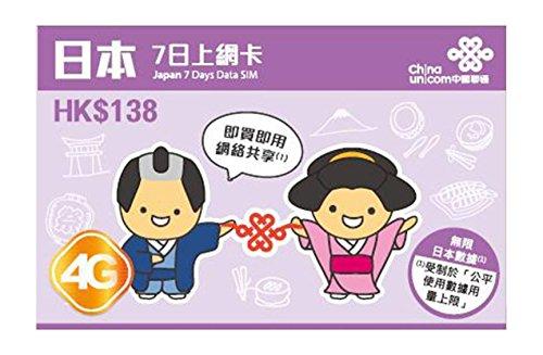 china-unicom-japan-7-days-unlimited-data-sim-prepaid-card