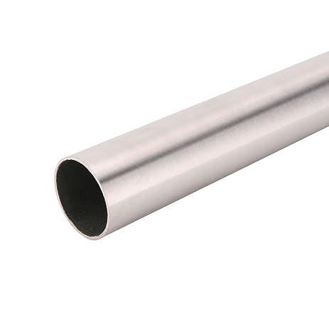 John Sterling 0015 6BN Heavy Duty Closet Pole Rod, 72 Inch, Brushed