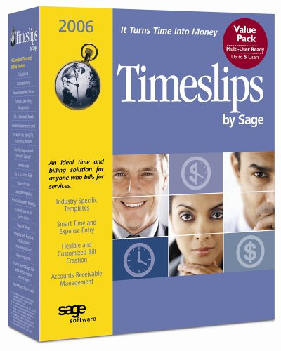 Sage Timeslips 2006 Multi-User Value Pack - 5 Users