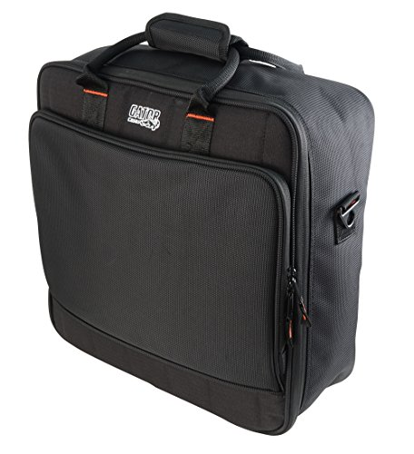 - Gator Cases Padded Nylon Mixer/Gear Carry Bag with Removable Strap; 15.5