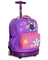 J World New York Aroma Kids' Rolling Backpack