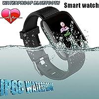Genlesh Smart Watch, 116 Plus Color Screen Smart Watch Heart Rate ...