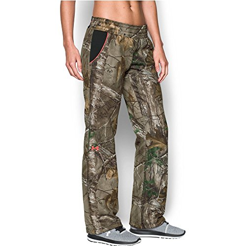 Under Armour Women's Camo Armour Fleece Pant, Realtree Ap-Xtra (947), XX-Large