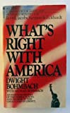 What's Right/America, Dwight Bohmbach, 0553257110