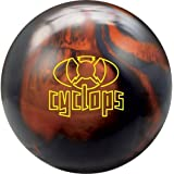 Radical Cyclops Bowling Balls Black Solid/Copper Pearl, 16 lbs