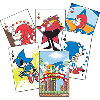 Sonic Classic - Playing Cards Goodies: Toys & Games