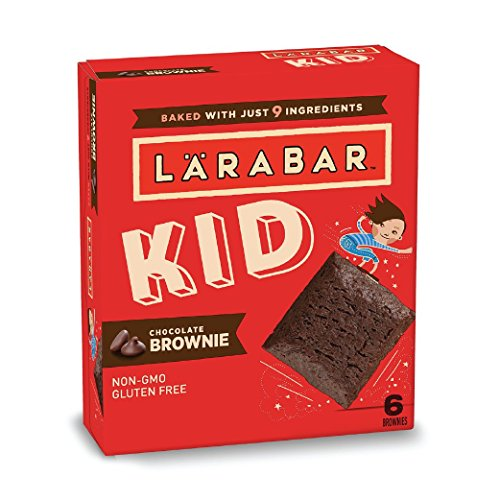 Larabar Kid Chocolate Mint Brownie Bars 096 oz Bars 6 Count Gluten Free Whole Food Snack Bars