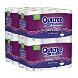 Quilted Northern Ultra Plush Double Rolls Toilet Paper, 48 Count