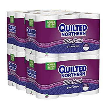 Quilted Northern Ultra Plush, 48 Double Rolls