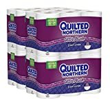 Health & Personal Care : Quilted Northern  Ultra Plush Toilet Paper, Pack of 48 Double Rolls (Four 12-roll packages), Equivalent to 96 Regular Rolls-Packaging May Vary