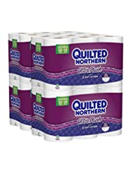Quilted Northern Ultra Plush Toilet Paper, Bath Tissue, 48 Do...