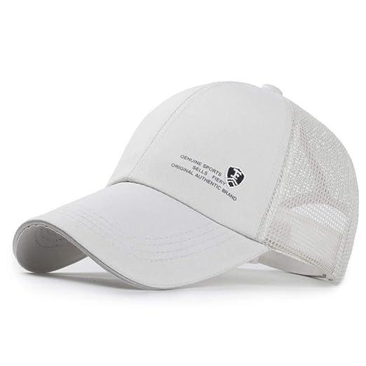 woyaochudan Sombrero de los Hombres al Aire Libre para Mujer ...