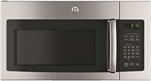 """GE JVM3162RJSS 30"""" 120 Volts 1.6 cu. ft. Capacity Over the Range Microwave with Convertible Venting and 1000 Watts in Stainlesss Steel"""