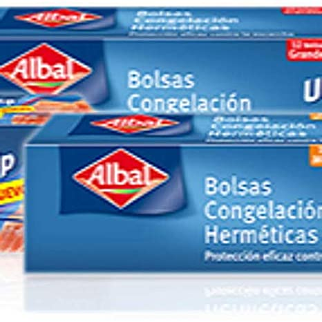 ALBAL Bolsas Congelacion Hermeticas Ultra -Zip 20 +5: Amazon ...