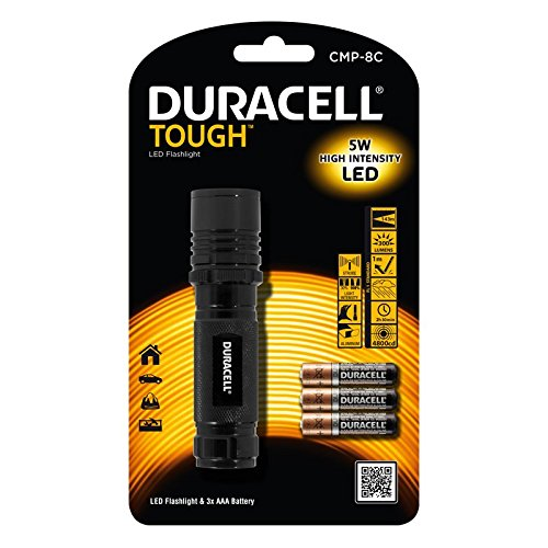 Jiawei CMP-8CUS Duracell Brand Jiawei Technology TOUGH Compact Pro Series 190 lm Hand Held Flashlights