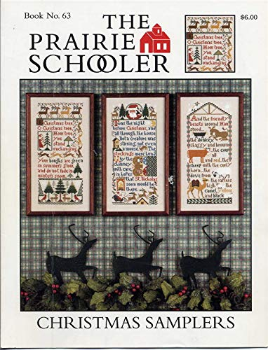 Christmas Samplers Cross Stitch Chart and Free Embellishment