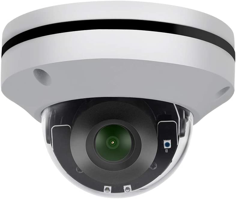5MP Mini PTZ POE IP Security Camera VK-IMD55-Z-3X,2.8 8mm Motorized Lens,3X Optical Zoom,Compatible with Hikvision,65ft Night Vision,Dual H.265 H.264,Onvif Indoor Camera