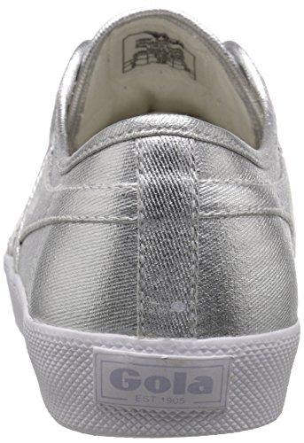 Gola Silver Metallic silver Women Sneaker Fashion Coaster fxfR4qZ