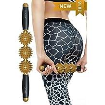 Fascia Cellulite Massage Roller - Cellulite Remover Roller Massager - Muscle Roller Massage Stick-Best Anti Cellulite Treatment Muscle Roller Stick-Anti Cellulite Massager by Lealso
