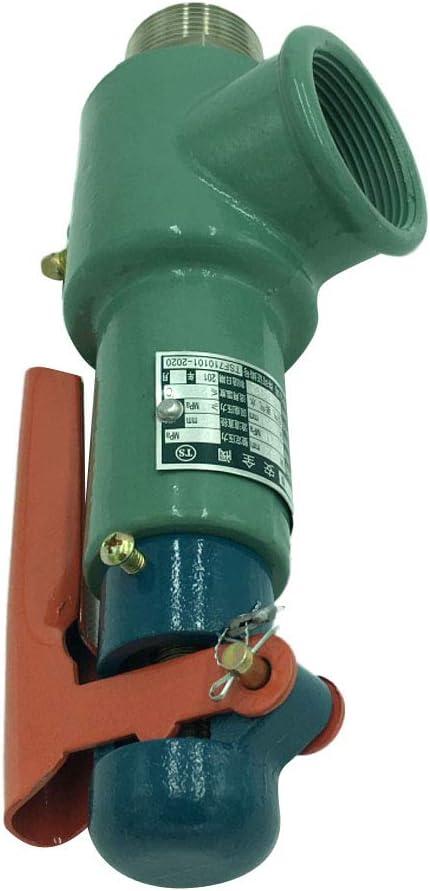 gazechimp A28H-16 Resorte De Seguridad De Seguridad DN32 0.3-0.7MPa Caldera Del Tanque De Almacenamiento De Gas