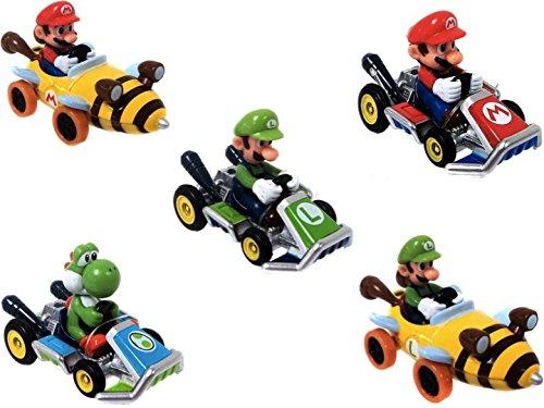 Nintendo Super Mario Kart Diecast Collection Set of 5