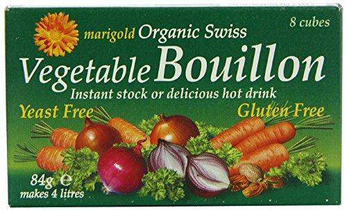 (Marigold Org Veg Bouillon Yeast Free 8 Cubes)