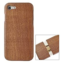 GHC Cases & Covers, For iPhone 7 Vertical Flip Sapele Wooden Protective Back Case ( SKU : IP7G2130A )