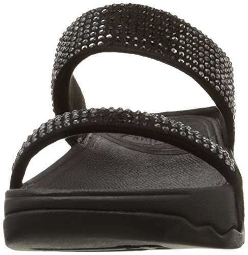 001 Black Black Fitflop Negro Mujer Sandalias Flare Slide qnqwZFHf