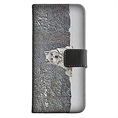 Amazon.com: Wild Animals 190, White Wolf, Embossed Black ...