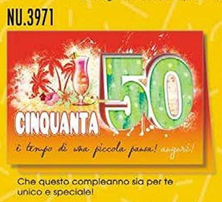 Tarjeta Felicitación cumpleaños 50 años Ï ¿œ Tiempo de una ...