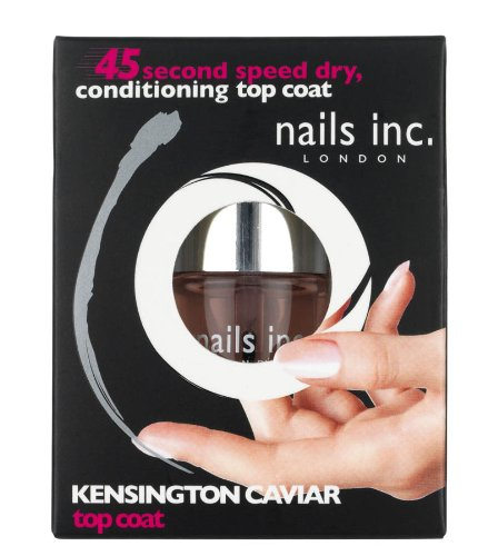 Nails Inc Kensington Caviar Top Coat - 10 ml: Amazon.co.uk: Luxury ...