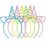 18 Pack Unicorn Headbands Party Favors Supplies...
