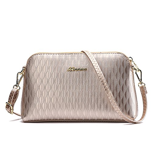 Jacvaap - Womens Shoulder Bag, Dorado (golden) - Jvps2013-n Gold