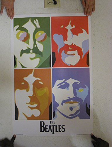 The Beatles Sea Of Science Poster 22 X 34In
