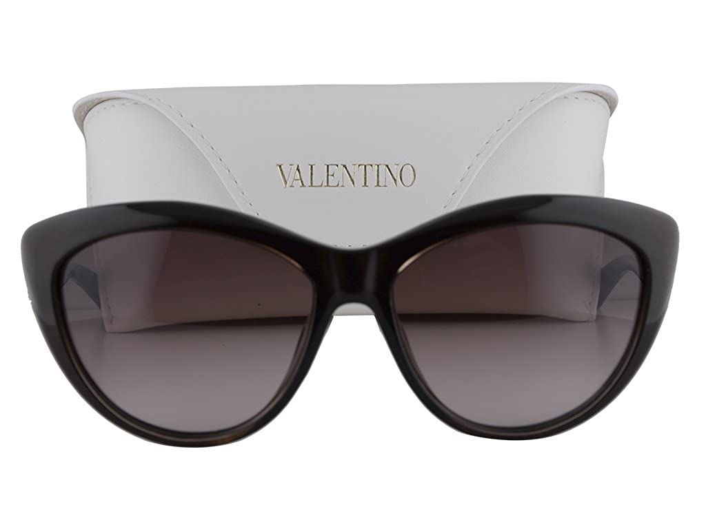Amazon.com: Valentino V632SR Sunglasses Brown Strass w ...