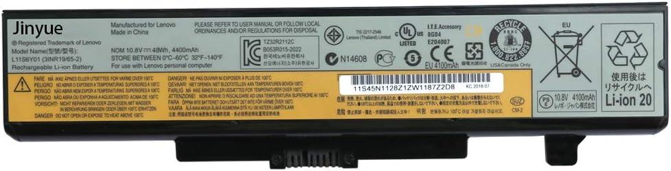 Jinyue New Laptop Battery for Lenovo IdeaPad G480 G485 Y480 G410 G400 G500 G510 G580 G485 Z480 Z485 G585 10.8V 48Wh 4400mAh