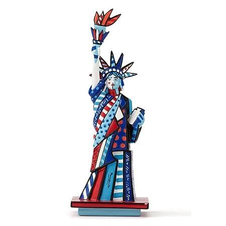 Enesco Romero Britto Statue of Liberty Small Figurine