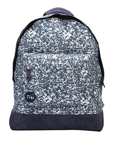 Mi-Pac Women's Denim Splatter Women's Backpack In Blue Blue by Mi-Pac
