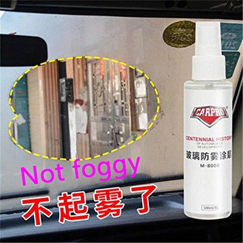 Drivworld Anti Fog Spray Anti-fog agent rainy winter car long-term anti-fog window windshield defogger bathroom to fog agent by Drivworld (Image #7)