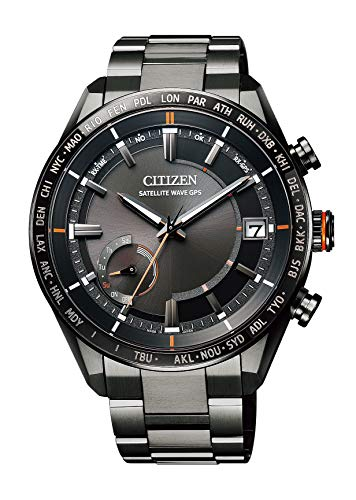Citizen Atessa Eco Drive GPS Satellite Watch F 150 Direct Flight ACT Line CC3085-51E Men's Black