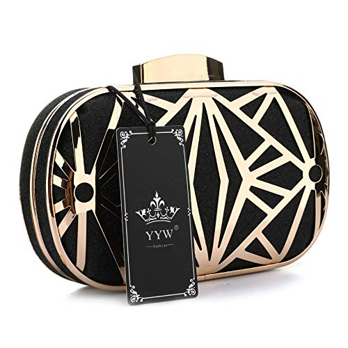Bags Black Glitter Bling Prom Evening Handbag Sparkling Clutch Purses For Bride Wedding Evening Rq7Bwt