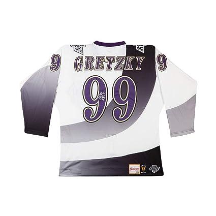 best website 40a05 9f258 Wayne Gretzky Los Angeles Kings Autographed Burger King ...