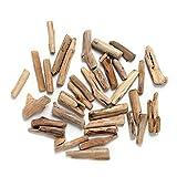 "Byher Driftwood Pieces for Crafts Frames Wreath Surf Art Beach Decor (1"" - 4"", 8OZ, 55pcs)"
