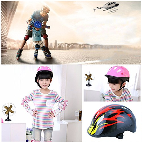 Children Kids Cycling Bike Bicycle Skate Hat Cap Safe Sport Protection Helmet (#10)