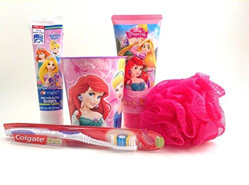 Bath Disney Princess (Disney Princess 5 Piece Bath Set)
