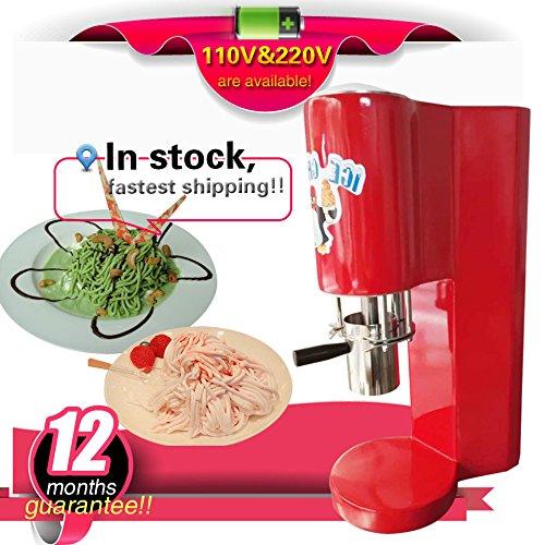 Yoli italian gelato spaghetti machine CE spaghetti ice cr...