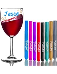 Amazon.com: Glass Markers: Home & Kitchen