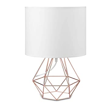 Lámparas de Escritorio Soporte geométrico Lámparas de mesa Base de ...