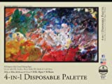 Bee Paper 4-In-1 Palette Pad, 18-Inch by 24-Inch